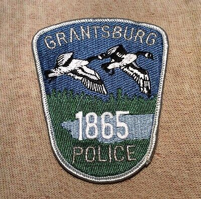 WI Grantsburg Wisconsin Police Patch
