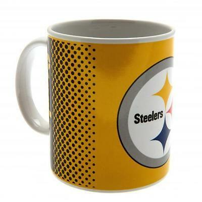 Official Licensed NFL Product Pittsburgh Steelers Mug FD Cup Tea Coffee Gift Box