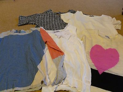 Bundle Of Ladies Tops And Jumpers, Various Brands But All Size 12