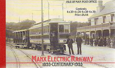 ISLE OF MAN 1993 Manx Electric Railway - stamp booklet