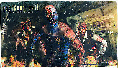 NEW Bandai Resident Evil Deck Building Game Zombie Rubber Playmat