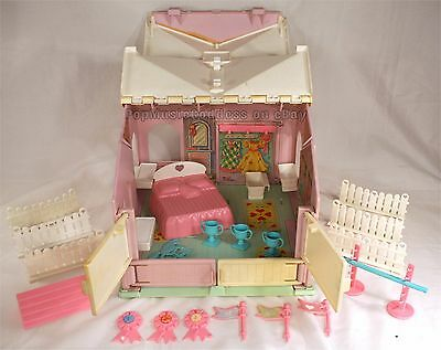 My Little Pony Ponies MLP G1 Megan's Place playset with accessories RARE!!