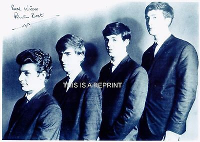 """PETE BEST easrly Beatles `signed` 8x10"""", original was obtained at UACC show"""