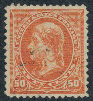 drbobstamps US Scott #260 XF Used Stamp Cat $150