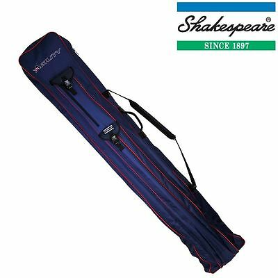 Shakespeare Agility Continental Rod Bag 12 Tube Match Fishing Holdall 1294033