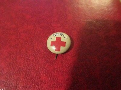Vintage American Red Cross I Serve