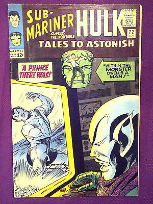 Tales to Astonish  #72 FN