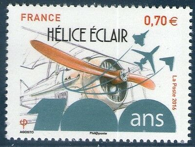 TIMBRE NEUF XX  - Hélice Eclair - Aviation - 100 ans