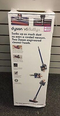 Dyson V6 Fluffy + (Plus) Cordless Rechargeable Bagless Vacuum Cleaner