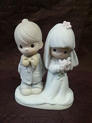 Precious Moments The Lord Bless And Keep You Bride & Groom 1979 | E-3114