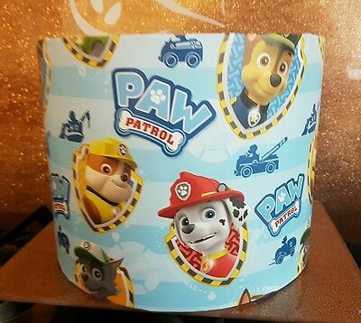 Brand new Paw Patrol lampshade hand crafted ceiling lightshade