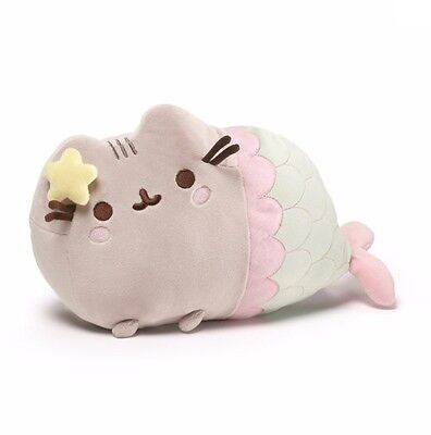 "Gund 12"" PLUSH  PUSHEEN MERMAID~NEW~"