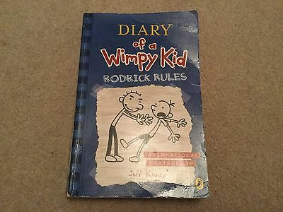 Diary of a Wimpy Kid .... Rodrick Rules by Jeff Kinney  .... childs book