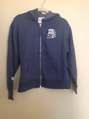 Disney Store Women's Embroidery Mickey Front Full Zip Hoodie Size L