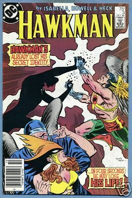 Hawkman #3 1986 Don Heck DC Comics