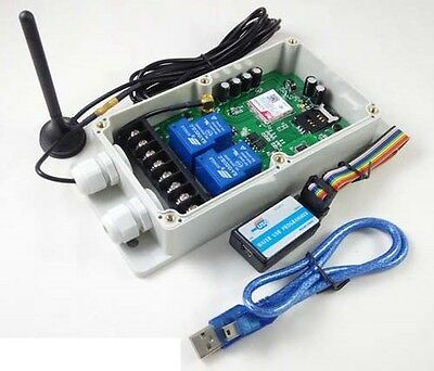4G GSM Remote Control Relay - 2 x 30 Amp Relays - DC Powered - Australia Only