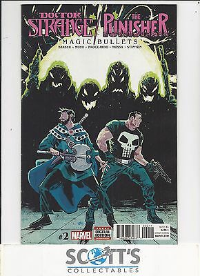 Doctor Strange Punisher Magic Bullets  #2  New  (Bagged & Boarded) Freepost