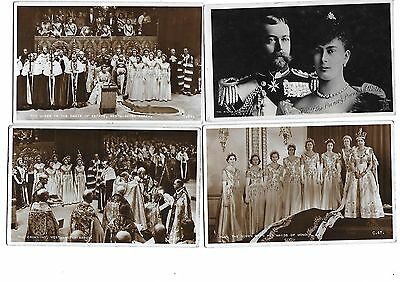 Lot 4 Early RP Royalty Postcard Queen Elizabeth Coronation 1953 Prince Wales 07