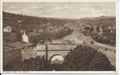 JEDBURGH From the Castle Roxburghshire c1930's? Postcard