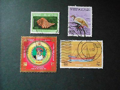 OMAN 4 Various Stamps