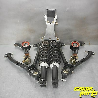 Can-am Strut To A Arm Conversion Kit 400 500 Outlander Steel Arms Heavy Springs