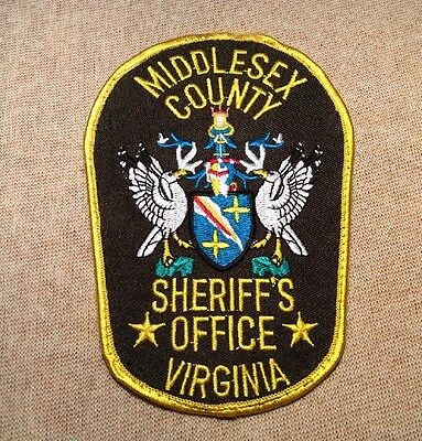 VA Middlesex County Virginia Sheriff Patch