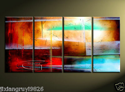 NO frame BEAUTIFUL MODERN ABSTRACT WALL ART OIL PAINTING ON CANVAS 302
