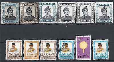 BRUNEI stamps one scan.