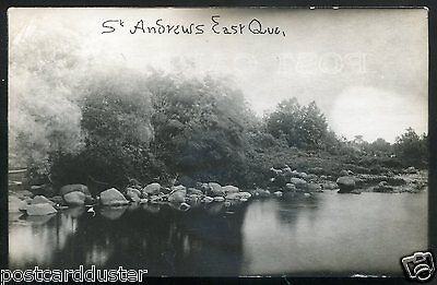 1285 - ST.ANDREWS EAST Quebec 1920s River View RPPC