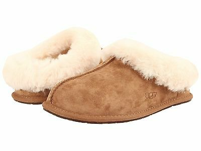 Women's Shoes UGG Moraene Suede Slippers 1007703 Chestnut *New*