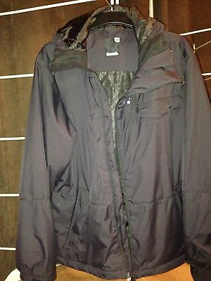 Men's Black Ski Winter Jacket Bench XL