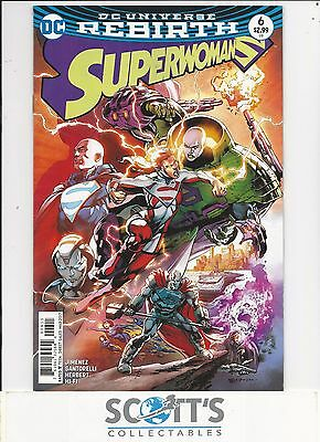 Superwoman   #6  New  (Bagged & Boarded) Freepost