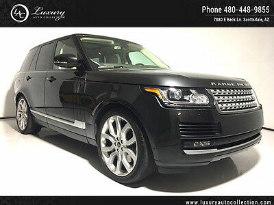 2013 Land Rover Range Rover  22 Wheels Pano Roof Lane Departure Assist 14 15