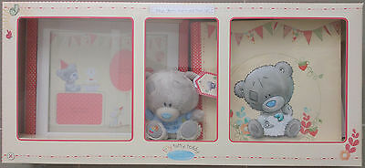 Tiny Tatty Teddy Baby's Album, Frame and Plush (BOY GIFT SET) - BRAND NEW IN BOX