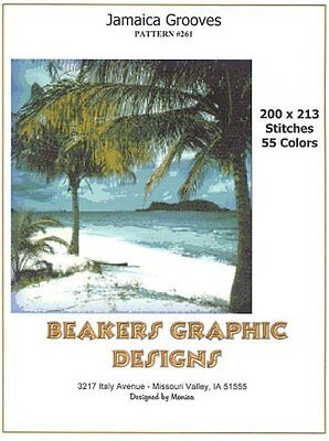 JAMAICA GROOVES Counted Cross Stitch detailed #0261
