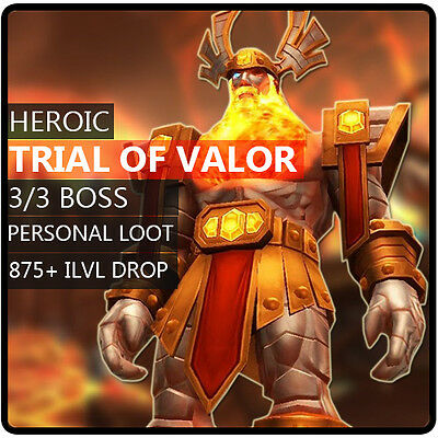 wow boost horde ✯ hc heroic trial of valor 3/3 ✯ all EU horde side ✯
