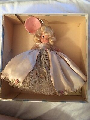 """Nancy Ann Storybook Doll #181 """"Tuesday's Child Is Full Of Grace"""" MS JT"""