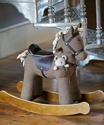 Little Bird Told Me 'Chester and Fred' Rocking Horse - Infant Rocker - Brand New