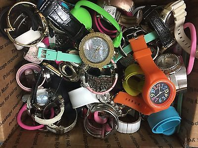 Huge Lot Of 100+ Watches Mix For Parts/Repair As Is Make An Offer! (#753)
