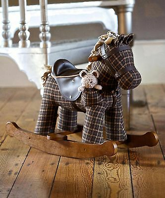 Little Bird Told Me 'Rufus and Ted' Rocking Horse - Infant Rocker - Brand New