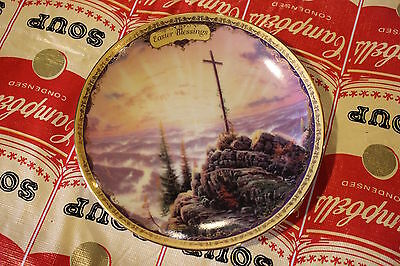 Thomas Kinkade Collectors Plate 2003 Simpler Times Easter Blessings Sunrise