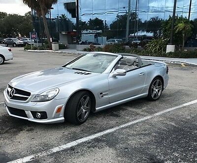2009 Mercedes-Benz SL-Class SL63 AMG 2009 Mercedes-Benz SL63 AMG Low Miles. Like New Condition. Clean Carfax. Loaded