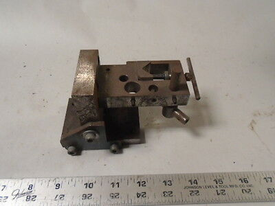 MACHINIST TOOL LATHE MILL Tool Makers V Block Fixture for Set Up Grinding Hold