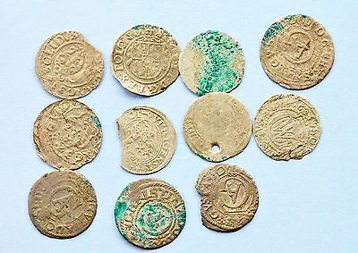 Mixed lot of Medieval European silver coins