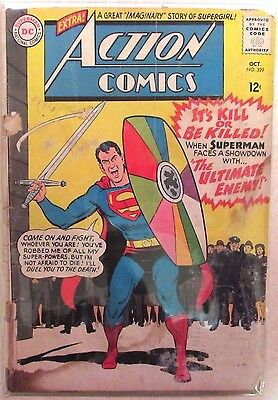 DC Comics - Action Comics Issue #329 - Silver Age -1960s - Superman