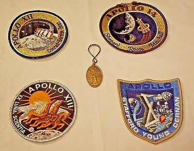 Apollo Mission Patches and Key ring