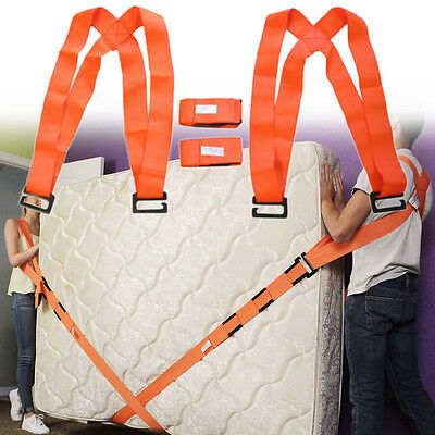 New Lifting Shoulder Straps Moving Carry Furniture Appliances Holder Aid Tool