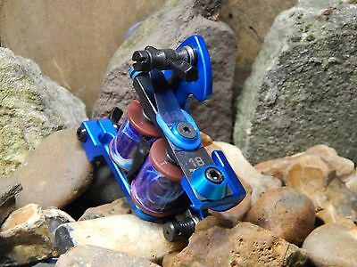 Custom Tattoo Machine Blue Frame Colour Packer-Used Spare Parts-Frame-