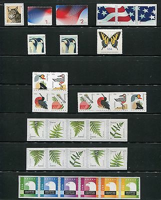 US 2015 Definitives Year Set - Complete, MNH - 33 Stamps USA