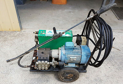 Delvex 3 Phase 2500PSI Pressure Washer 7.5Hp Electric Motor